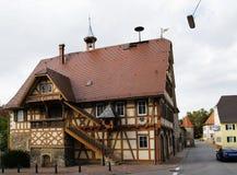 Old City Hall of Kochendorf Stock Photos