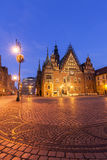 Old City Hall on Market Square in Wroclaw Royalty Free Stock Image