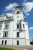 Old city hall in miner city Ostrava Stock Photography