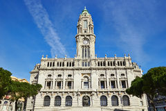 Old city hall of Porto Royalty Free Stock Images