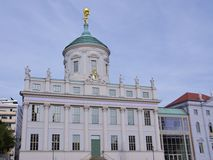 The old city hall of Potsdam Stock Image