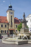 The old City Hall in Rybnik Stock Photography