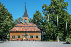 The old city hall in Sigtuna, Sweden. Stock Photos