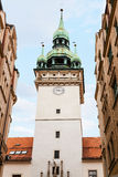 Old City Hall (Stara Radnice) tower in Brno town Royalty Free Stock Photography