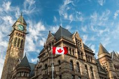 Old City Hall in Toronto royalty free stock image