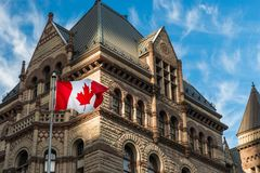 Old City Hall in Toronto royalty free stock photography