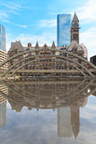 Old city hall of Toronto in gothic style. Royalty Free Stock Photography