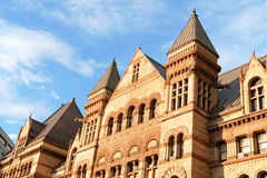 Old city hall of Toronto Stock Photo