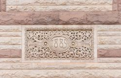 Old City Hall Toronto:Romanesque revival architectural detail Royalty Free Stock Image