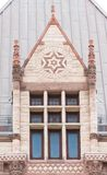 Old City Hall Toronto:Romanesque revival architectural detail Stock Photography