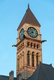 The Old City Hall Tower with Clock in Toronto,Canada Stock Photo