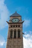 The Old City Hall Tower with Clock in Toronto, Canada Royalty Free Stock Photos