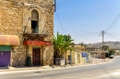 Old city of Hebron, Palestine. Old city of Hebron, protected area, Palestine Royalty Free Stock Photos