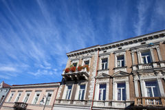 Old City Houses in Radom Stock Photo
