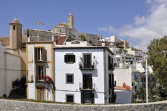 Old city of Ibiza Royalty Free Stock Photography