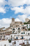 Old city of Ibiza - Eivissa. Spain, Balearic islands Royalty Free Stock Photo