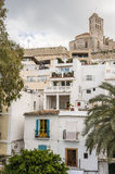 Old city of Ibiza - Eivissa. Spain, Balearic islands Stock Photography