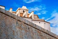 Old city of Ibiza, Spain Royalty Free Stock Photography