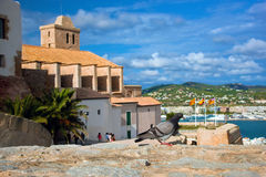Old city of Ibiza, Spain Royalty Free Stock Photo