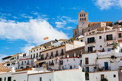 Old city of Ibiza, Spain Royalty Free Stock Images