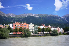 Old city of Innsbruck. Royalty Free Stock Photography
