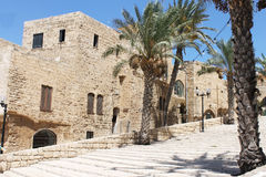 The old city of jaffa. An old building in the old city of jaffa Royalty Free Stock Images