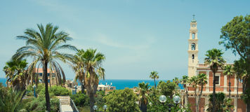 Old city Jaffa Stock Photo