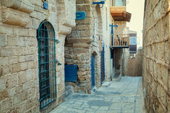 Old city Jaffa Stock Images