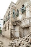 Old city in Jeddah, Saudi Arabia known as Historical Jeddah. Ancient building in UNESCO world heritage historical village Al Balad stock image