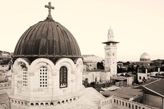 Old city jerusalem Royalty Free Stock Photography