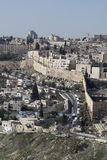 Old city Jerusalem Stock Photography