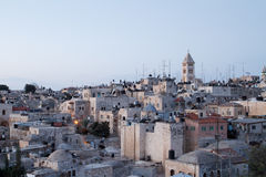 Old city of Jerusalem Stock Photo