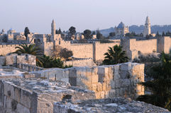 Old City of Jerusalem Royalty Free Stock Images