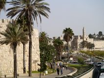 Old City of Jerusalem Stock Image