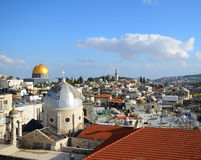 Old City of Jerusalem Stock Photography
