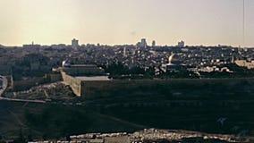Old City of Jerusalem stock footage