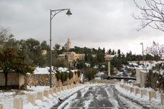 Old city in Jerusalem Stock Photography
