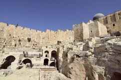 Old city of Jerusalem, Israel. Royalty Free Stock Image