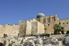 Old city of Jerusalem, Israel. Royalty Free Stock Photography