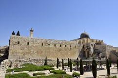 Old city of Jerusalem, Israel. Stock Images