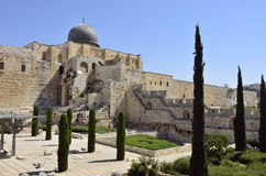 Old city of Jerusalem, Israel. Stock Photography