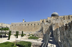 Old city of Jerusalem, Israel. Royalty Free Stock Images