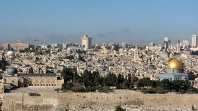 Old City of Jerusalem Royalty Free Stock Photos