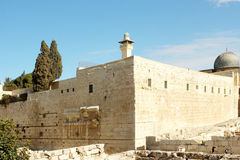 Old city Jerusalem Israel Royalty Free Stock Photo
