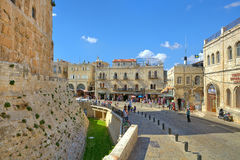 Old City of Jerusalem, ISrael. Stock Image