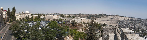 Old City of Jerusalem, Israel, Middle East Royalty Free Stock Photography