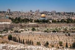 Old city of Jerusalem. On a sunny day Royalty Free Stock Photography