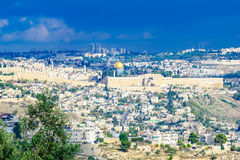 The Old City of Jerusalem Royalty Free Stock Images