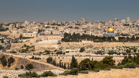 Old city in Jerusalem Royalty Free Stock Photography