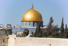 Old city of Jerusalim. View of old city of Jerusalim Royalty Free Stock Photography